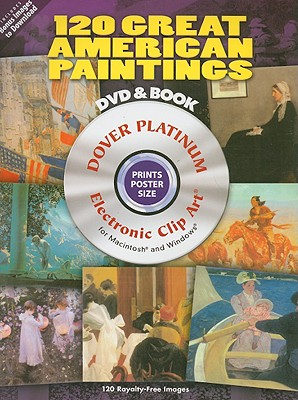 120 Great American Paintings By Dover (COR)